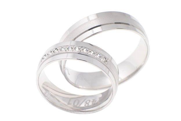 Snubní prsteny - model č. 148/01