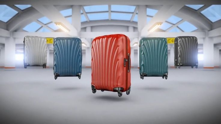 Perfecting strong and light suitcases - Samsonite