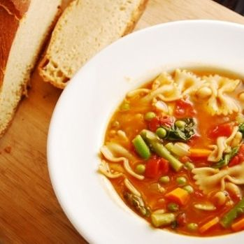 Spring Minestrone Soup:  Made this for dinner tonight......huge hit with everyone!!