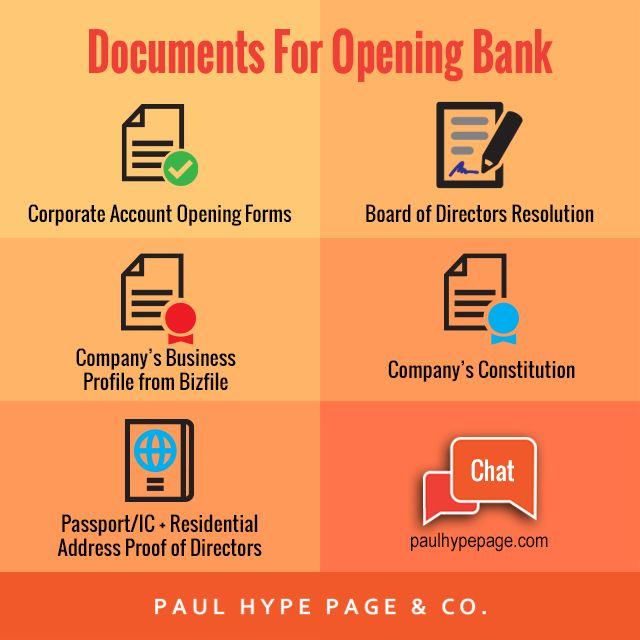 How to open a bank account in Singapore - Paul Hype Page