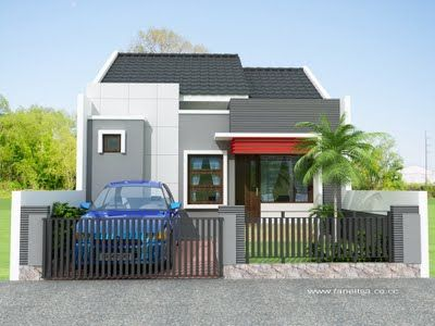 Desain Rumah Minimalis Modern 2013 1 Lantai - Rumah Minimalis