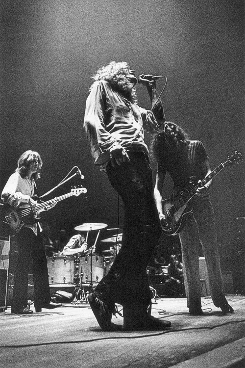 The Greatest Band In History Doing What They Do Best Led Zeppelin John Paul Jones Bonham Robert Plant Jimmy Page