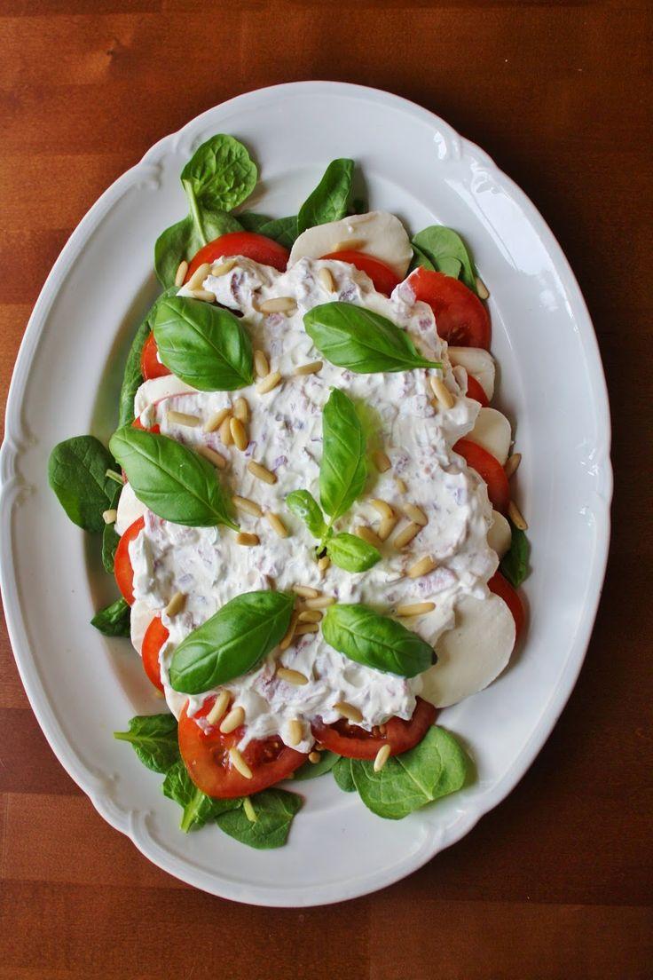 Tomat och mozzarella deluxe