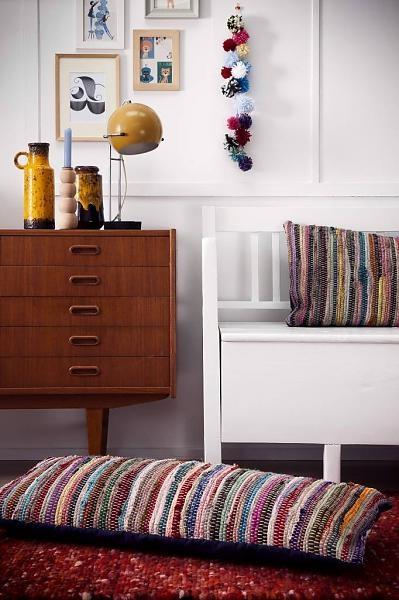 Storebror Sierkussen XL Mulitcolor Färger 40x100cm - wonenmetlef.nl