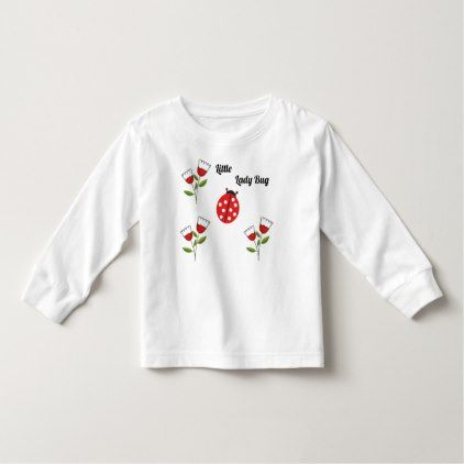 Little Lady Bug Toddler T-shirt - baby gifts child new born gift idea diy cyo special unique design