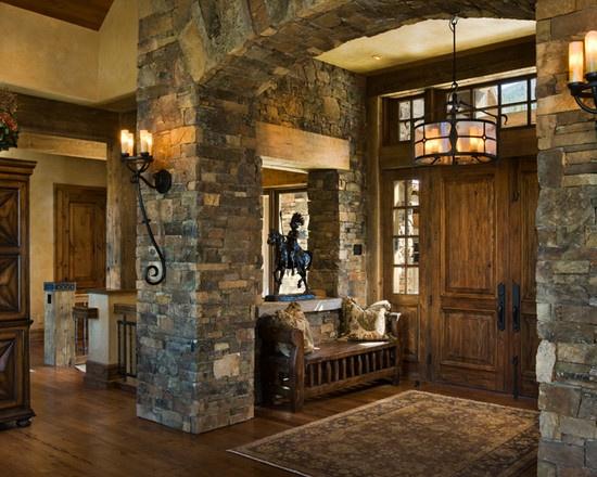 Home Interior Entrance Design Ideas: When Dealing With An Open Concept, Creating An Entry