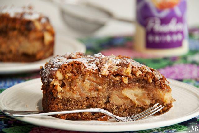 Carolines blog: Appel-kaneeltaart met walnoten.. ziet er verrukkelijk uit!