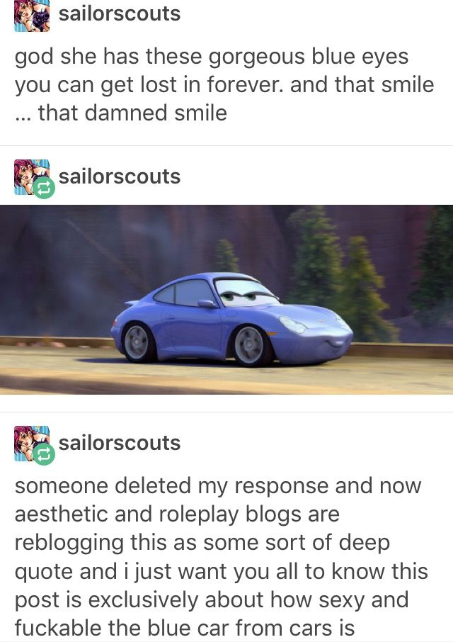 Those gorgeous blue eyes...   funny tumblr post