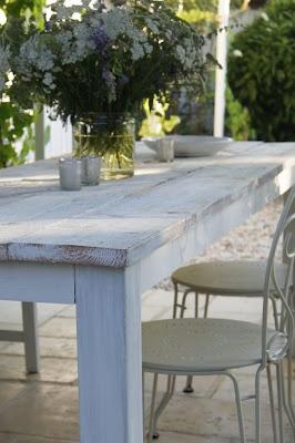 Haikaranpesä kodiksi.: Puutarhapöytä, DIY
