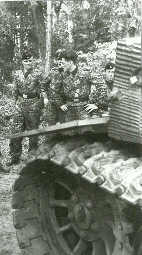Tiger1 Pz Div LSSAH SS crew members of Michael Wittman tank