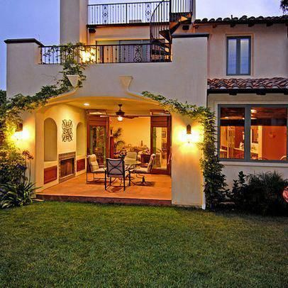 Exterior spanish colonial revival design ideas pictures - Colonial house exterior renovation ideas ...