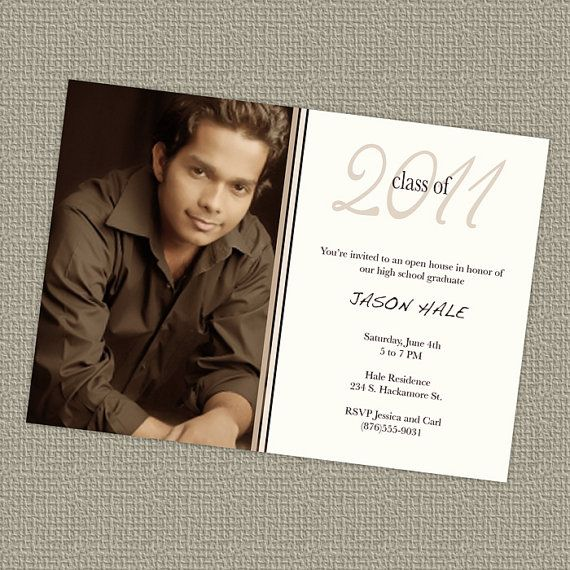 55 best Sample graduation announcements images on Pinterest