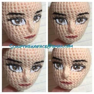 Resultado de imagen para bonecas amigurumi