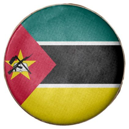 #Mozambique Flag Chocolate Covered Oreo - #Chocolates #Treats #chocolate