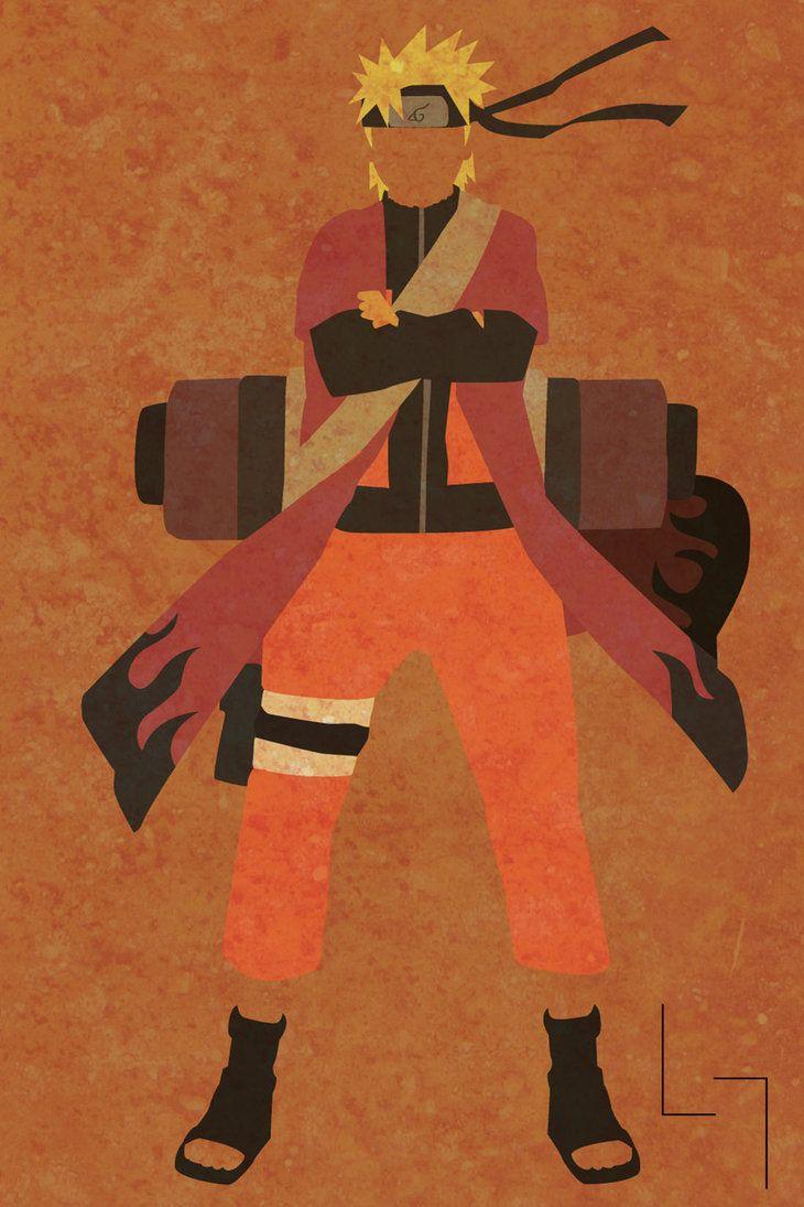 Minimalistic Sage Naruto - by Jehuty23