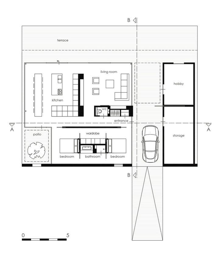 Villa SR,Floor Plan