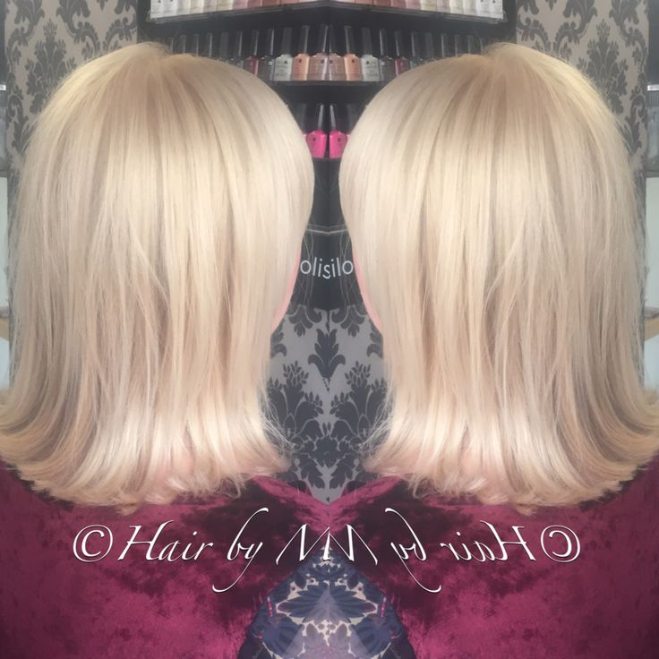 Hair By Marianna pearl blonde