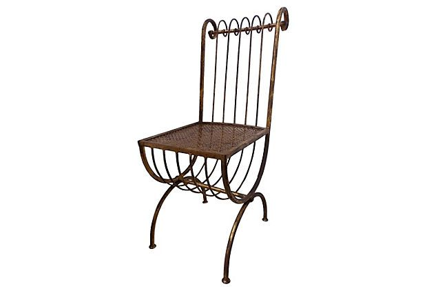 Midcentury Iron Chair on OneKingsLane.com