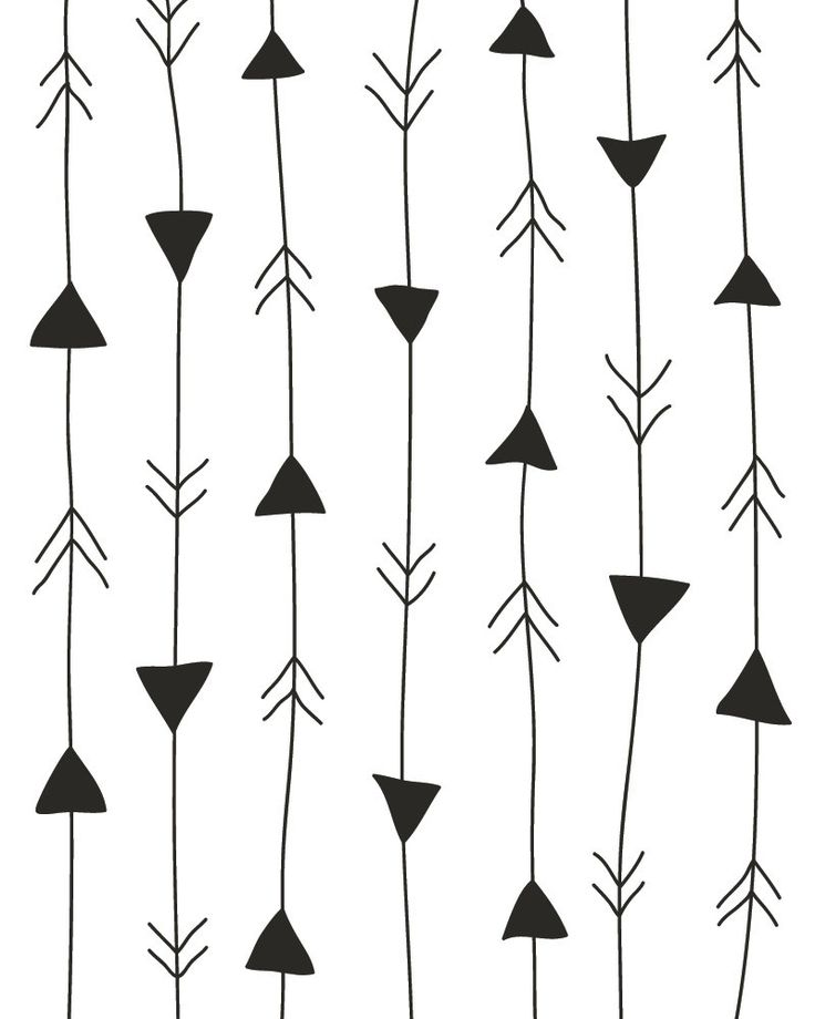 arrows print / more art here