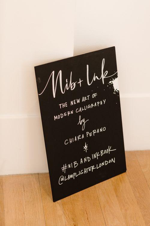 Nib + Ink Modern Calligraphy Book launch