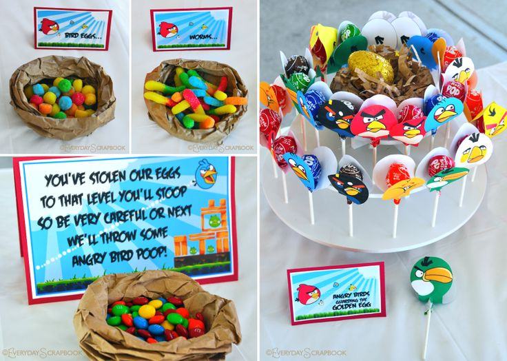 16 best Angry Bird Party images on Pinterest Birthday party