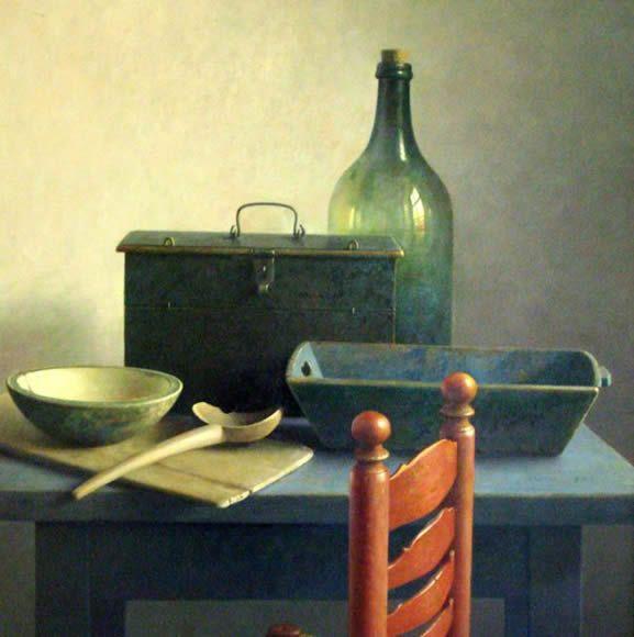 Henk Helmantel, Dutch painter (b.1945).