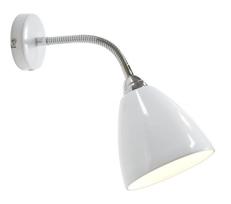 Aplica de perete flexibila Read alb 75301001NL - Corpuri de iluminat, lustre, aplice