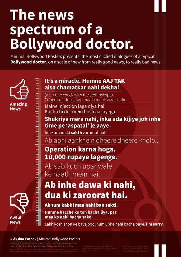Bollywood doctor dialogues