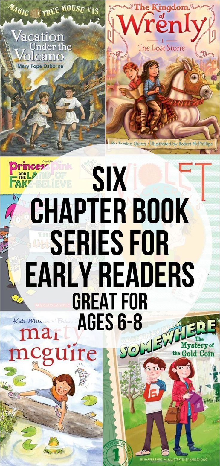 Six Chapter Book Series for Early Readers - perfect for those ages 6-8