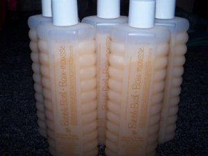 Lot of 5 Avon Vanilla Cream Bubble Bath 8 Fl Oz Each (Vanilla Cream) by AvonProducts. $9.75. Lot of 5 Avon Bubble Bath. 8 fl oz each new. Scent: Vanilla Cream. Lot of 5 Avon Vanilla Cream Bubble Bath 8 fl oz each- A great way to relax after a hard days work. Formulated to nourish and lightly scent, creates lots of bubble and leaves no ring around the tub. Simply add 1 to 2 caps into your bath under the running water. Other scents available for purchase as well