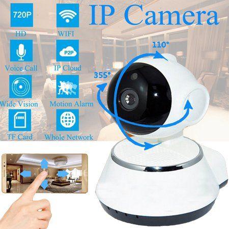 WIFI IP Camera Wireless Pan Tilt 720P Security Network CCTV Night Vision Webcam