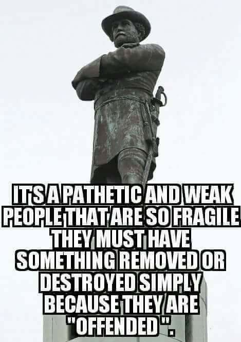 Robert E. Lee statue to be removed in New Orleans. Liberals and ISIS both like to destroy and re-write history.