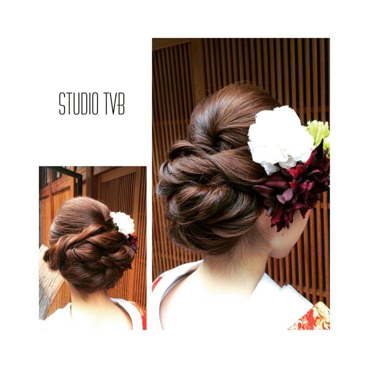 いいね!39件、コメント4件 ― Decollte_hairandmakeupさん(@decollte_weddingstyle)のInstagramアカウント: 「studio TVB Kyoto 祇園ロケーション hair make : k.fujiwaka…」