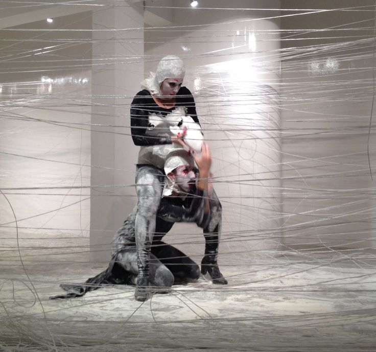 In Flagrante Delicto - Performance art  Idea & Creators - Alon Moran & Maya Meidar Moran  Dancers & Actors –Gili Beit Hallahmi & Omri Albo  Makeup Artist –Na'ama Chason  Periscope Gallery ,176 Ben Yehuda Street ,Tel Aviv  18.10.14