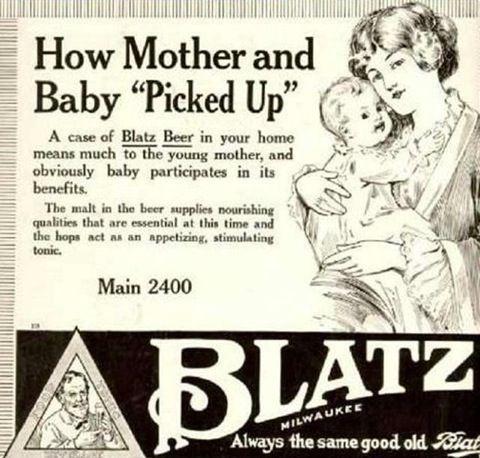 Blatz Beer ad