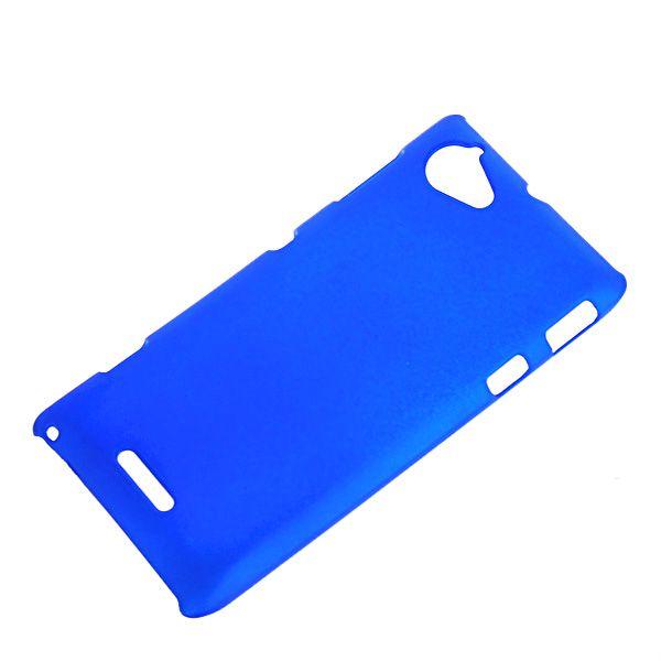 OEM Πλαστική Θήκη Rubber Plastic Case Μπλε (Sony Xperia L) - myThiki.gr - Θήκες Κινητών-Αξεσουάρ για Smartphones και Tablets - Χρώμα μπλε