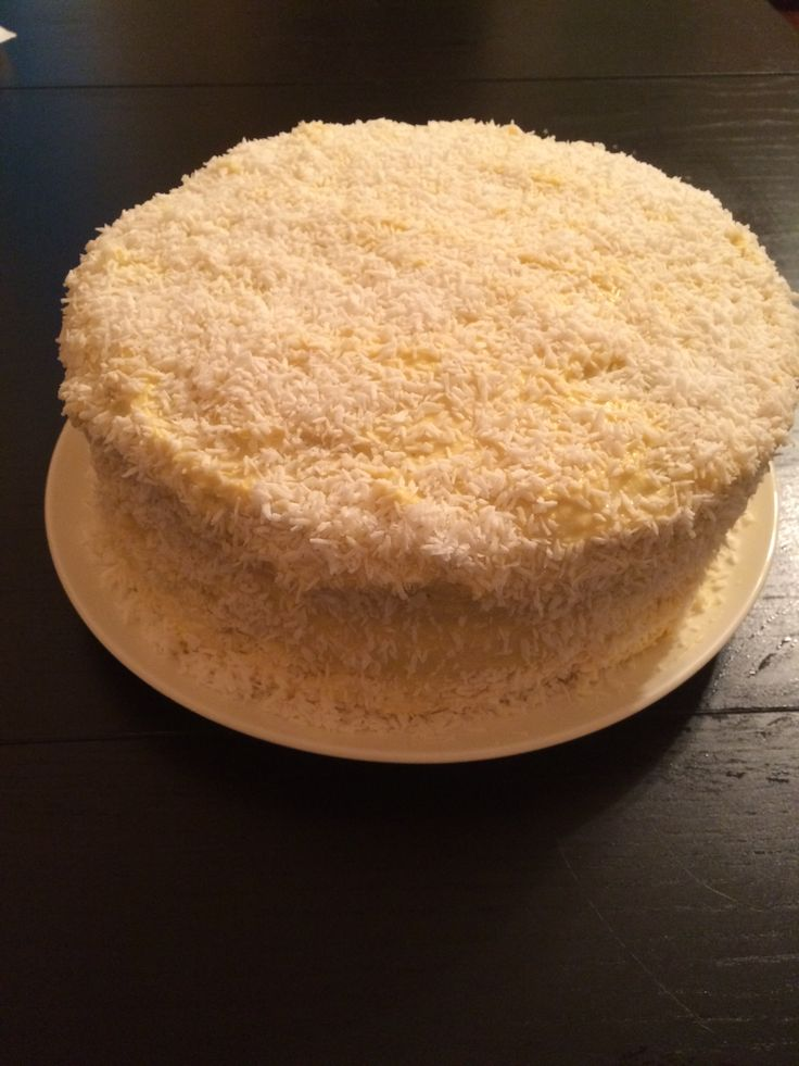 Mm the coconut cake turned out like coconut pound cake.  The icing was great too :)
