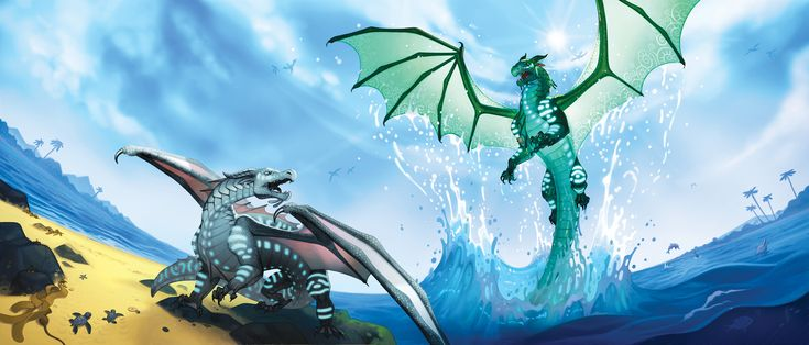 Wings of Fire book 9: Talons of Power Full Cover
