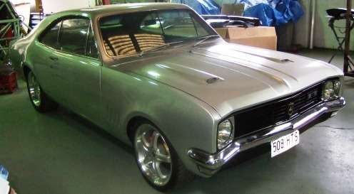 and a Monaro - not this one though