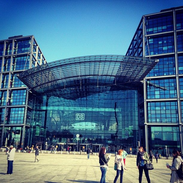 Berlin Hauptbahnhof in Berlin. Germany is on my bucket list, specifically Berlin, because I love German culture! Ich liebe die Deutsch! #seeberlin