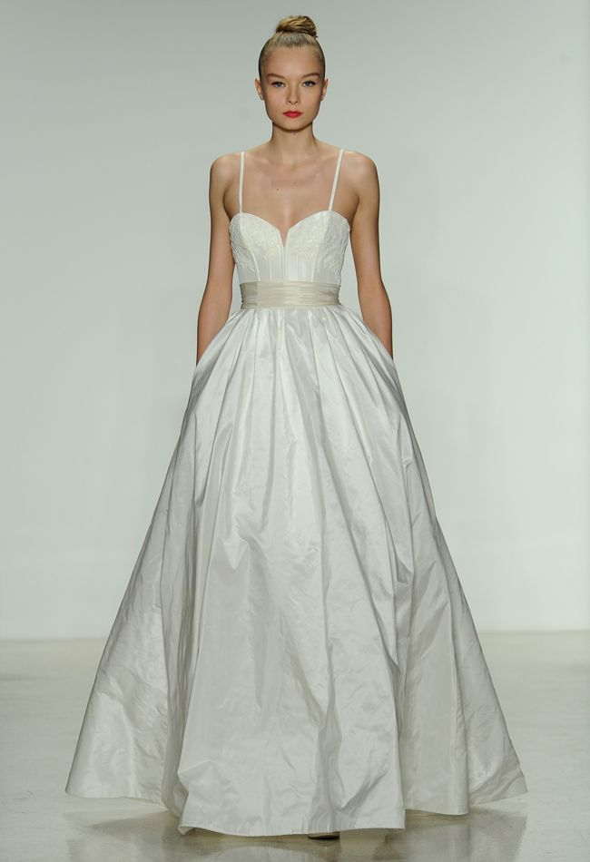 Amsale Spring 2014 Wedding Dresses | The Knot Blog – Wedding Dresses, Shoes, & Hairstyle News & Ideas