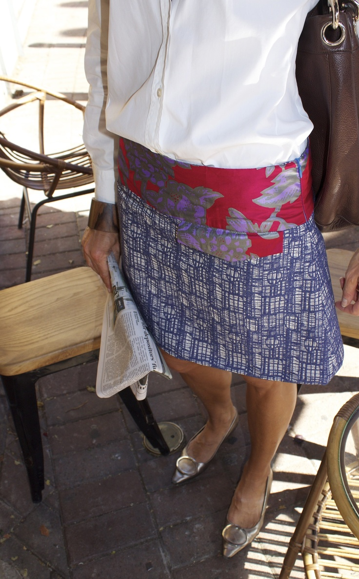 One Of A Kind's Gridlock skirt entry