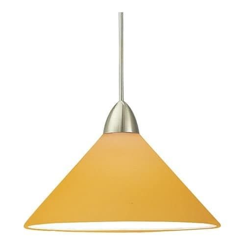 WAC Lighting G512 Replacement Glass Shade for 512 Pendant from the Jill Collection (Amber)