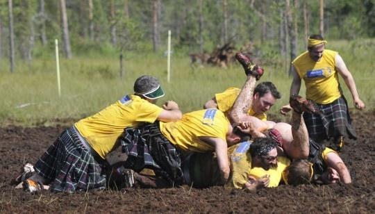 Mayhem in the Mud | Suopotkupallo – The Swamp Soccer World Cup in Hyrynsalmi