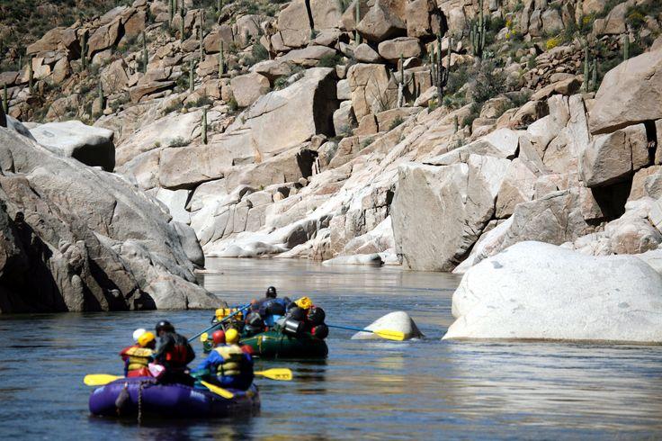 Salt river rafting Outdoor adventure activities