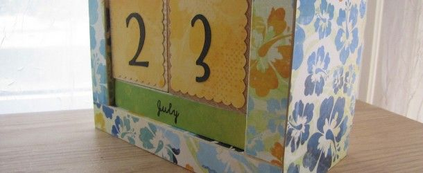 Handmade Calendar Tutorial : Best images about perpetual calendars on pinterest