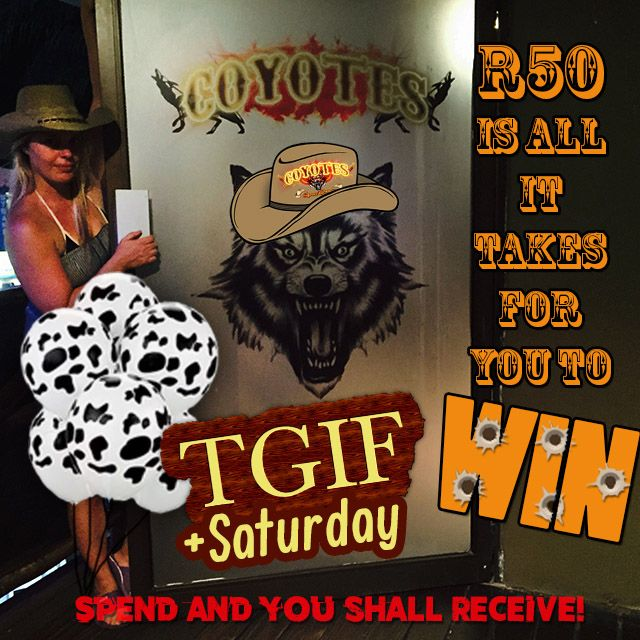 Spend and #win at @CoyotesMargate every #weekend! http://buff.ly/1t3xf8L