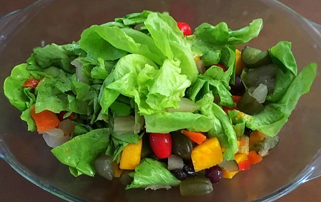 Gluten Free: Salada Primavera