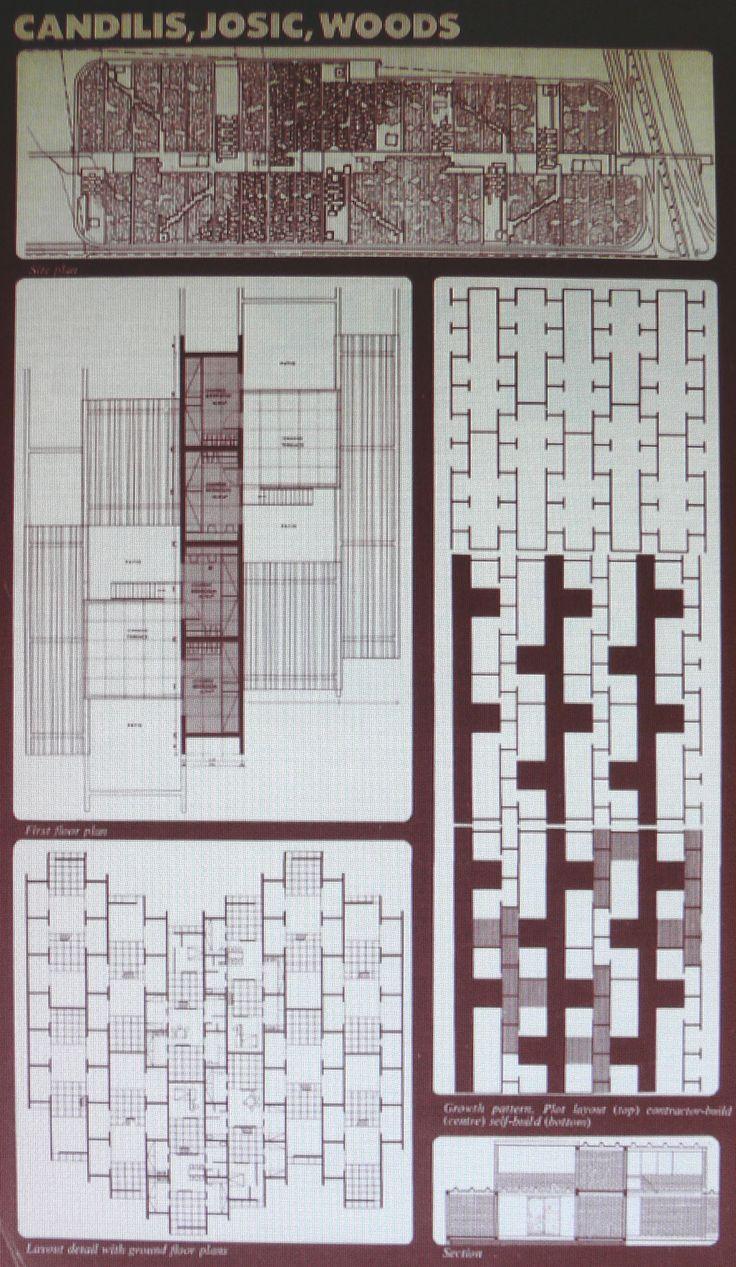 Candilis, Josic, Woods - Experimental Housing Project, Lima Peru. 1965