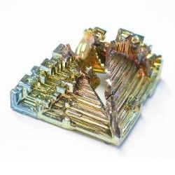 The Bismuth crystal is among the most unusual & incredible you've ever seen. It was used by the Incas notably for weaponry along with other metal substances, and has been noted as discovered by other, ancient civilizations. It is an intensely old substance, rivaling the age of the known universe. It is a substance created in supernovas & stars, an incredible ...